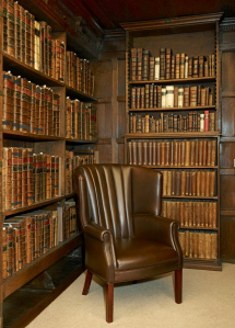 Books in the Fellows' Library (Nick Cistone; © Jesus College, Oxford)